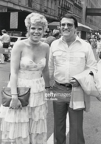 Actress Christopher Norris and husband Walter Danly attend The City Fair Benefiting Cystic Fibrosis Foundation on June 19 1983 at the Bloomingdale's...