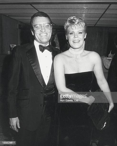 Actress Christopher Norris and husband Walter Danly attend the premiere of Yentl on November 16 1983 at the Cinerama Dome Theater in Hollywood...