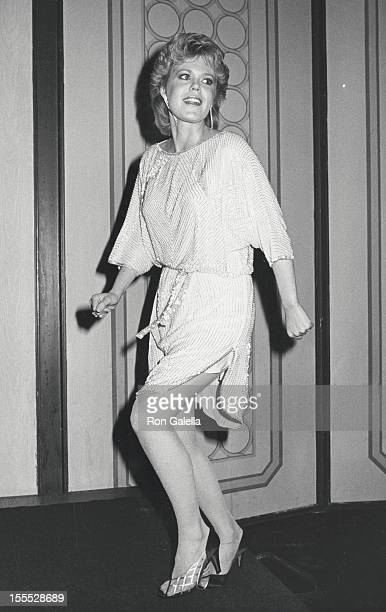 Actress Christopher Norris attends 25th Annual International Broadcasting Awards on March 19 1985 at the Century Plaza Hotel in Century City...