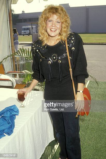 Actress Christopher Norris attends the 18th Annual Allen Ludden Rancho Los Amigos Medical Center Holiday Party on December 10 1987 at the Rancho Los...