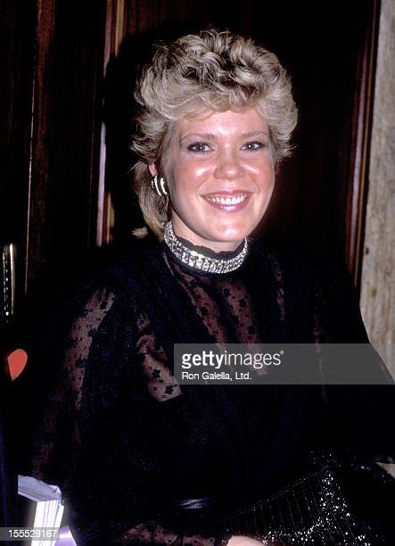 Actress Christopher Norris attends the 29th Annual Thalians Ball on November 3 1984 at Century Plaza Hotel in Los Angeles California