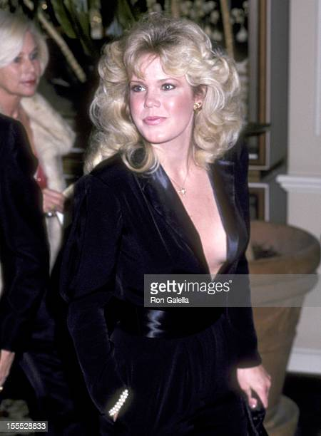 Actress Christopher Norris attends the 38th Annual Golden Globe Awards on January 31 1981 at Beverly Hilton Hotel in Beverly Hills California