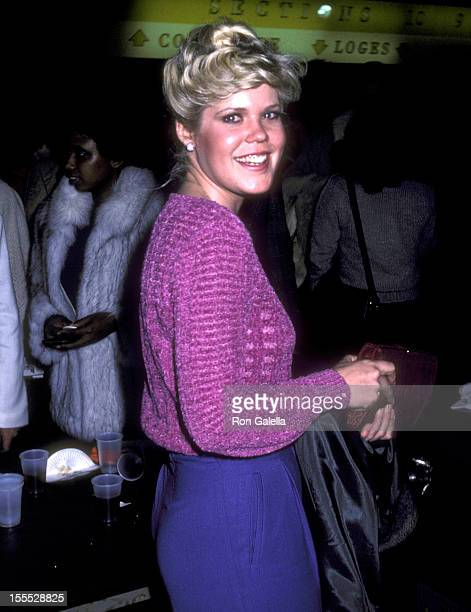 Actress Christopher Norris attends the Opening Night Festivites of the 1981 Avon Tennis Championships of Los Angeles on March 2 1981 at The Forum in...