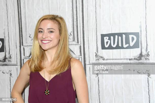Actress Christy Altomare visits the Build Series to discuss 'Anastasia' at Build Studio on November 3 2017 in New York City