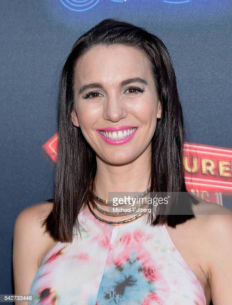 Actress Christy Carlson Romano attends the premiere of 100th Disney Channel Original Movie Adventures In Babysitting and celebration of all DCOMS at...
