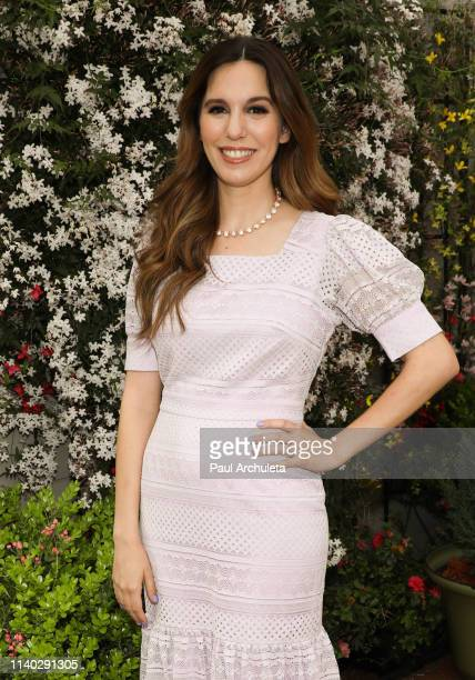 Actress Christy Carlson Romano visits Hallmark's Home Family at Universal Studios Hollywood on April 03 2019 in Universal City California