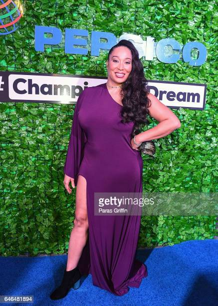 Actress Chrystale Wilson attends Champion The Dream at Park Tavern on February 28 2017 in Atlanta Georgia