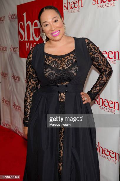 Actress Chrystale Wilson attends Kimmie Awards Black Tie Gala on Day 2 of 'Sheen Magazine Legendary Weekend 2017' at Atlanta Marriot Marquis on April...