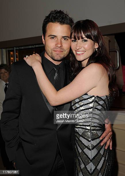 Actress Chyler Leigh and her husband Nathan West attends the 2nd Annual Thirst Project Gala at The Beverly Hilton hotel on June 28 2011 in Beverly...