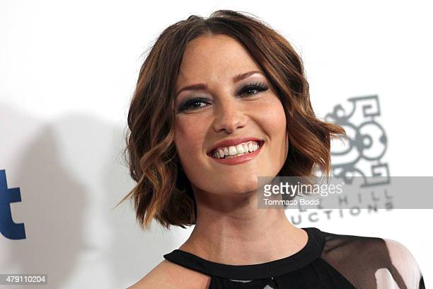Actress Chyler Leigh attends the 6th Annual Thirst Gala held at The Beverly Hilton Hotel on June 30 2015 in Beverly Hills California