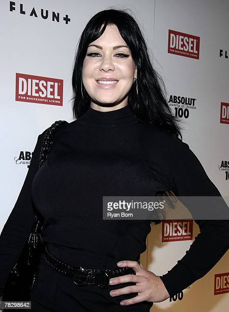 Actress Chyna Doll also know as Joanie Laurer attends FLAUNT Magazine's 9th Anniversary Bash and Holiday Toy Drive at The Green Door in Los Angeles...