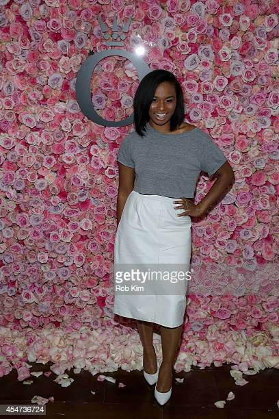 Actress Chyna Layne attends the Pandora Rose Launch Party during MercedesBenz Fashion Week at Empire Hotel on September 5 2014 in New York City