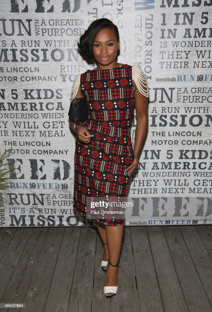 Actress Chyna Layne attends Women's Health Hosts Hamptons 'Party Under The Stars' for RUN10 FEED10 at Bridgehampton Tennis and Surf Club on August 9, 2014 in Bridgehampton, New York.