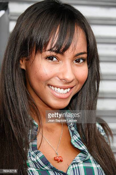 Actress Chyna Stevens attends the Los Angeles premiere of Rogue Pictures' Balls Of Fury at The Egyptian Theater on August 25 2007 in Hollywood...