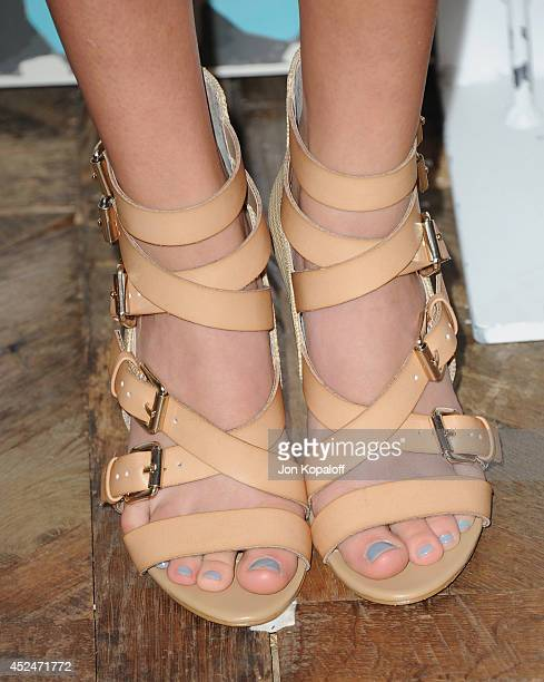 Actress Ciara Bravo arrives at the FOX AllStar Party 2014 Television Critics Association Summer Press Tour at Soho House on July 20 2014 in West...