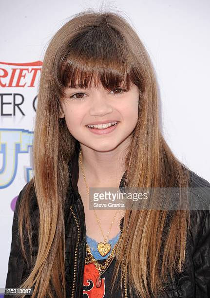 Actress Ciara Bravo arrives at Variety's 4th Annual Power of Youth event at Paramount Studios on October 24 2010 in Hollywood California