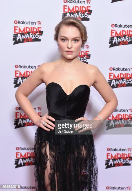 Actress Ciara Charteris attends the Rakuten TV EMPIRE Awards 2018 at The Roundhouse on March 18 2018 in London England