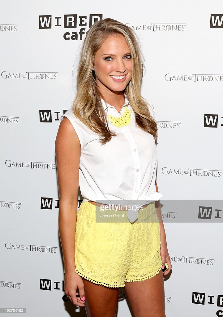 Actress Ciara Hanna attends day 3 of the WIRED Cafe ...