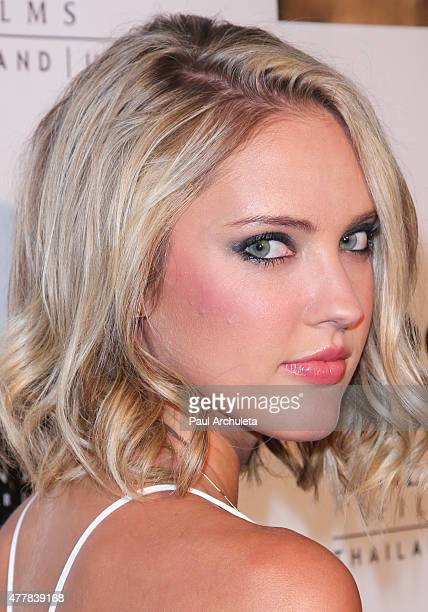 Actress Ciara Hanna attends the premiere 'PERNICIOUS' at Arena Cinema Hollywood on June 19 2015 in Hollywood California