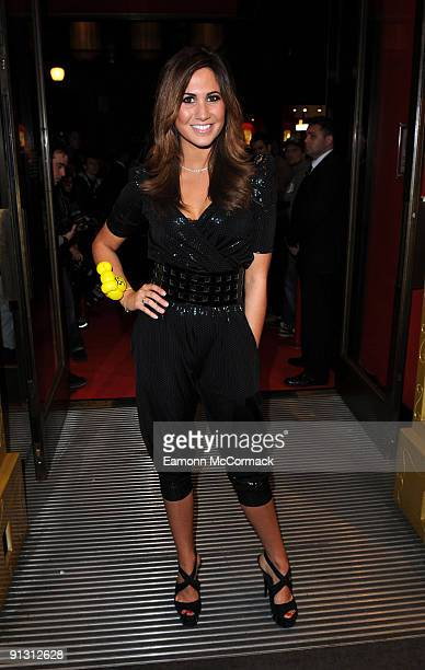 Actress Ciara Janson attends the launch of iPod skins by Wrappz in aid of Children In Need at Hamleys on October 1 2009 in London England