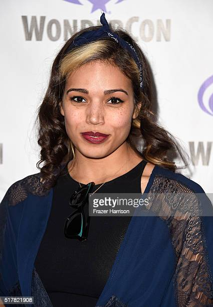 Actress Ciara Renée attends DC's Legends of Tomorrow panel at WonderCon 2016 at Los Angeles Convention Center on March 27 2016 in Los Angeles...