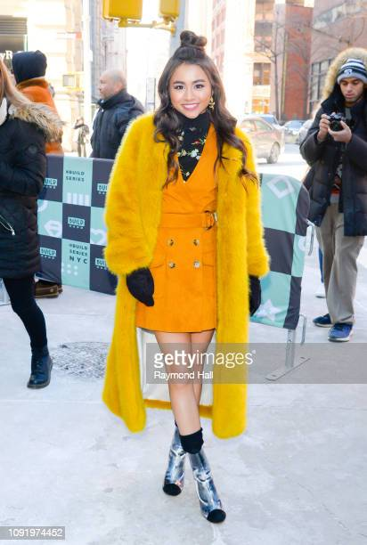 Actress Ciara Riley Wilson is seen in soho on January 31 2019 in New York City
