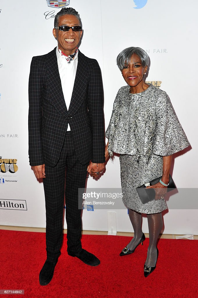Actress Cicely Tyson (R) and a guest attend 2016 Ebony Power 100 Gala at The Beverly Hilton Hotel on December 1, 2016 in Beverly Hills, California.