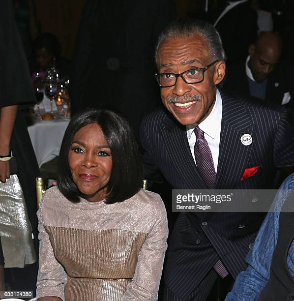 Actress Cicely Tyson and Al Sharpton attend the National CARES Mentoring Movement's 2nd Annual 'For the Love of Our Children' Gala at Cipriani 42nd...
