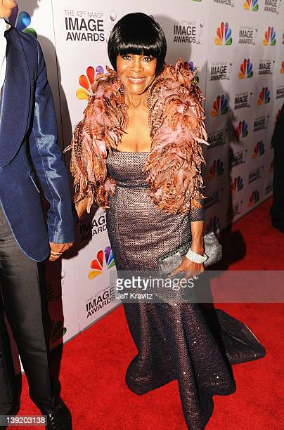 Actress Cicely Tyson arrives at the 43rd NAACP Image Awards after party held at The Shrine Auditorium on February 17 2012 in Los Angeles California
