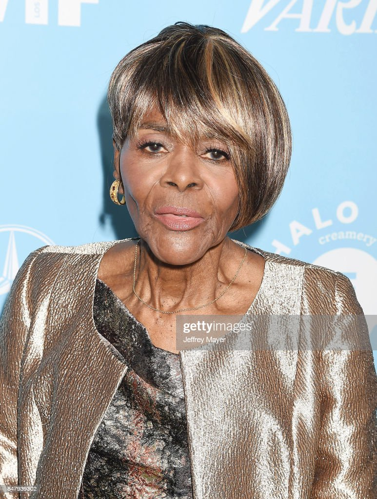 Actress Cicely Tyson arrives at the Variety And Women In Film's 2017 Pre-Emmy Celebration at Gracias Madre on September 15, 2017 in West Hollywood, California.