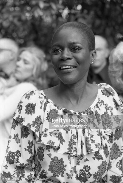 Actress Cicely Tyson attends an ERA event hosted by and at the home of actress producer and social activist Marlo Thomas in Beverly Hills California