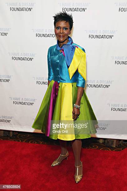 Actress Cicely Tyson attends the I Have A Dream Foundation Spirit of the Dream Gala at Gotham HallCicely Tyson on June 9 2015 in New York City