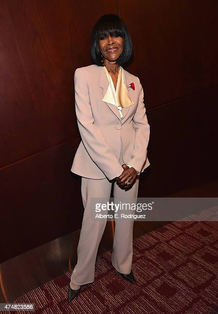 Actress Cicely Tyson attends The LA Times' Envelope screening of 'How To Get Away With Murder' at ArcLight Sherman Oaks on May 26 2015 in Sherman...