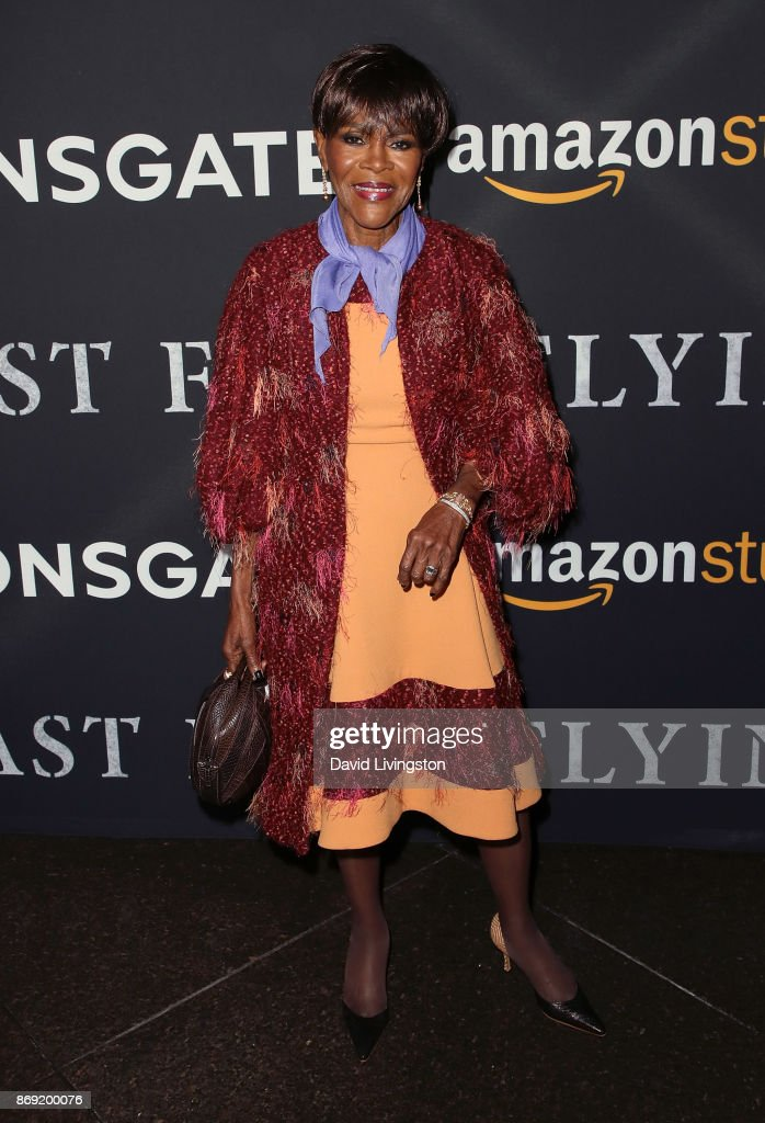 Actress Cicely Tyson attends the premiere of Amazon's 'Last Flag Flying' at the DGA Theater on November 1, 2017 in Los Angeles, California.
