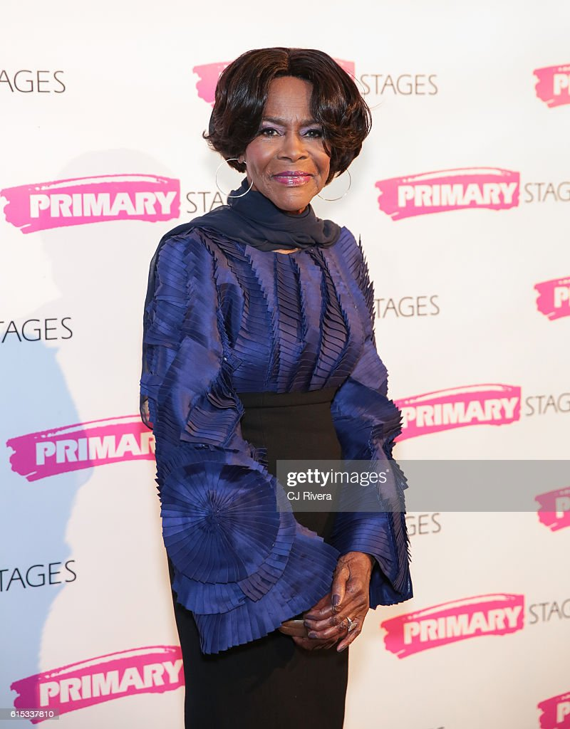 Actress Cicely Tyson attends the Primary Stages 2016 Gala at 538 Park Avenue on October 17, 2016 in New York City.