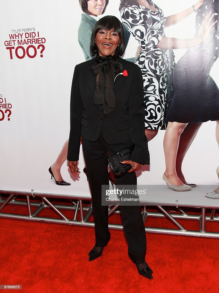 Actress Cicely Tyson attends the special screening of 'Why Did I Get Married Too?' at the School of Visual Arts Theater on March 22, 2010 in New York City.