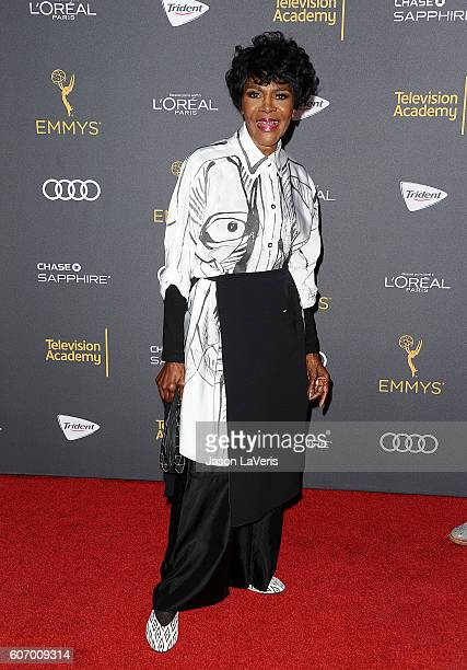 Actress Cicely Tyson attends the Television Academy reception for Emmy nominated performers at Pacific Design Center on September 16 2016 in West...