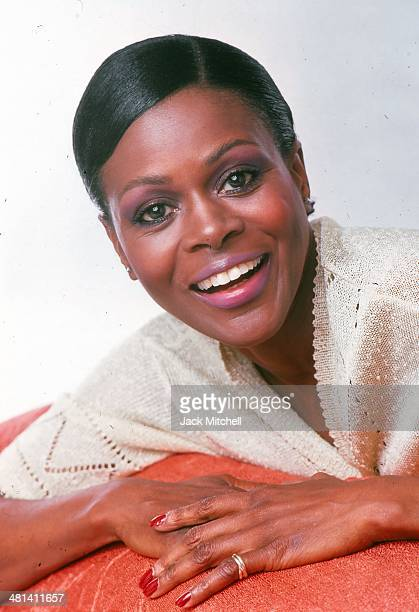 Actress Cicely Tyson photographed in 1976 in New York City
