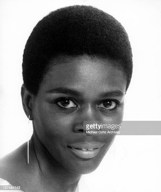 Actress Cicely Tyson poses for a portrait in circa 1966
