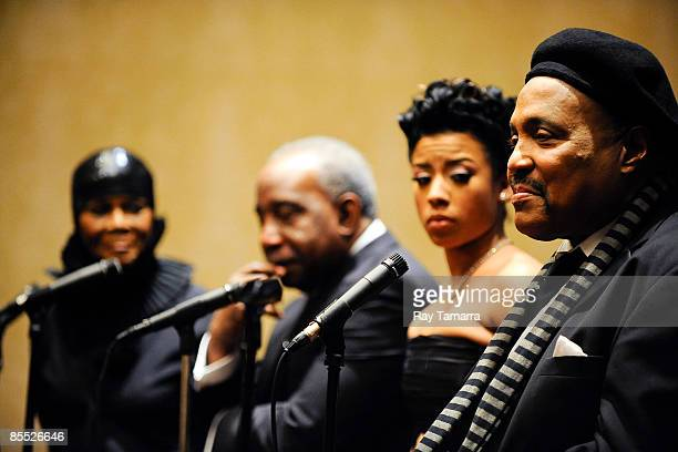 Actress Cicely Tyson singer Jerry 'The Ice Man' Butler singer Keyshia Cole and singer Andrae Crouch attend the 25th annual Communication Awards...