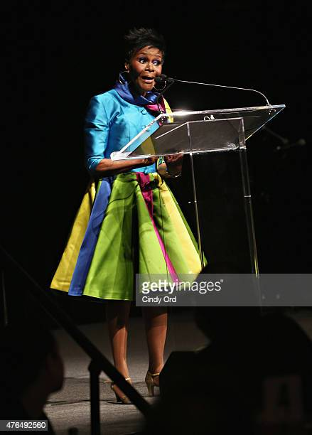Actress Cicely Tyson speaks during the I Have A Dream Foundation Spirit of the Dream Gala at Gotham HallCicely Tyson on June 9 2015 in New York City