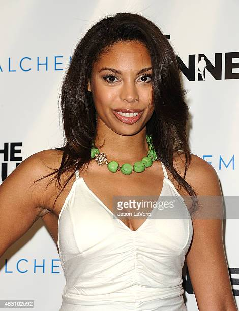 Actress Ciera Payton attends a screening of The Runner at TCL Chinese 6 Theatres on August 5 2015 in Hollywood California