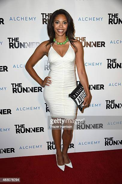 Actress Ciera Payton attends Paper Street Films' screening of The Runner at TCL Chinese 6 Theatres on August 5 2015 in Hollywood California