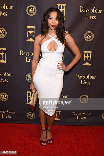 Actress Ciera Payton attends the Days Of Our Lives' 50th Anniversary Celebration at Hollywood Palladium on November 7 2015 in Los Angeles California
