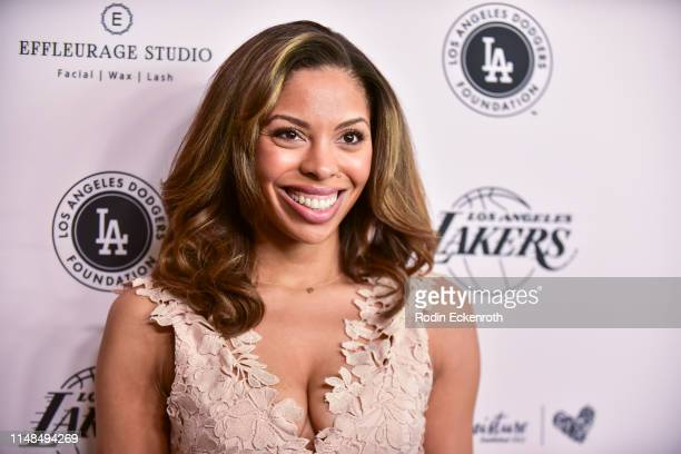 Actress Ciera Payton attends The LadyLike Foundation's 11th Annual Women of Excellence Luncheon at The Beverly Hilton Hotel on May 11 2019 in Beverly...