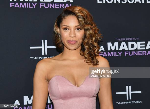 Actress Ciera Payton attends the NY special screening for Tyler Perry's 'A Madea Family Funeral' at SVA Theater on February 25 2019 in New York City