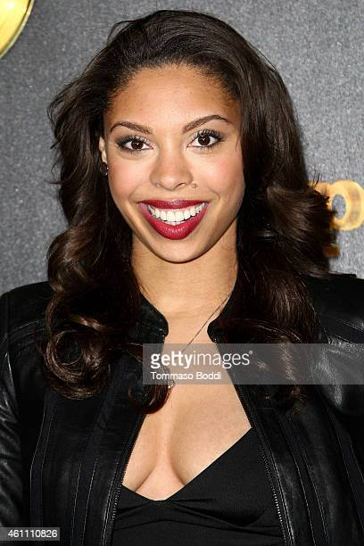 Actress Ciera Payton attends the red carpet premiere of Empire held at ArcLight Cinemas Cinerama Dome on January 6 2015 in Hollywood California