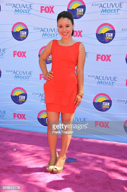 Actress Cierra Ramirez arrives at the 2012 Teen Choice Awards held at the Gibson Amphitheatre in Universal City California