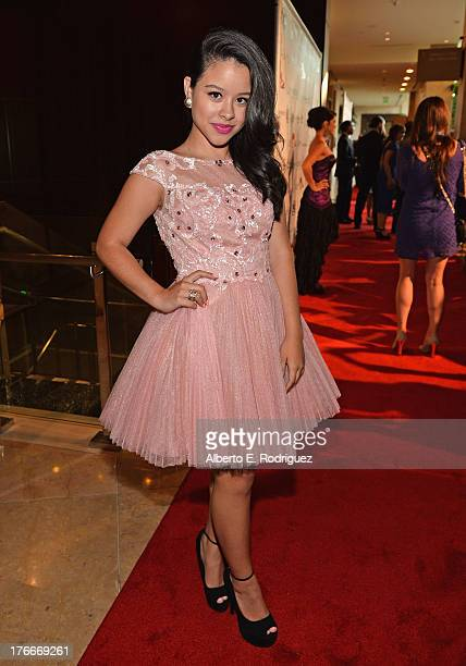 Actress Cierra Ramirez arrives to the 28th Annual Imagen Awards at The Beverly Hilton Hotel on August 16 2013 in Beverly Hills California