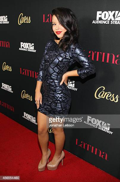 Actress Cierra Ramirez attends Latina Magazine's Hollywood Hot List Party at Sunset Tower on October 2 2014 in West Hollywood California